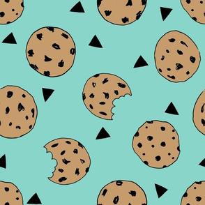 cookies // mint food kids nursery baby hand-drawn illustration