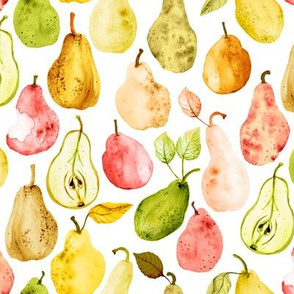 Fall Pears by Angel Gerardo
