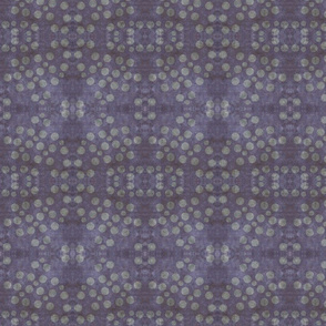 Grungy Polka Dots Fabric by Rupydetequila