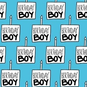 Birthday Boy Blue - Medium