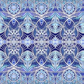 Victorian Gothic (blue)