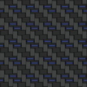 014 metal carbon fibre - blue wire
