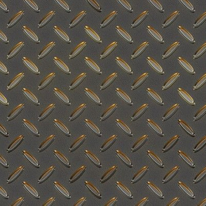 014 metal checker plate - gold reflections