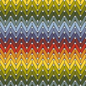04890099 : autumn stocking knit