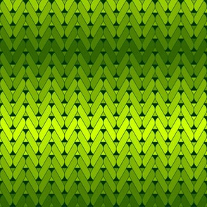 knitting : verdant greens