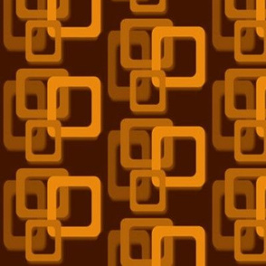Orange and brown squares