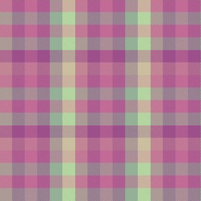Madras plaid - orchid and mint