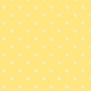 Dot Floral - Banana