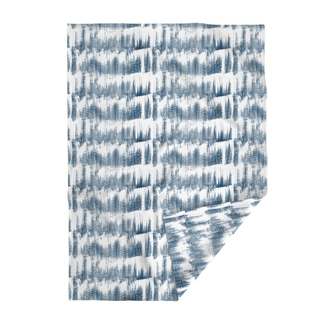 Lakenvelder Throw Blanket featuring Snowing by susanna_nousiainen