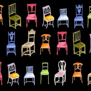 Swedish Wooden Chairs