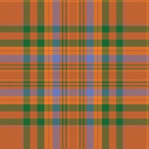 "MacCoul / MacDougall tartan, 6"" ancient"