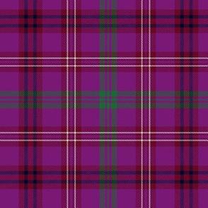 """McCall of Caithness tartan - 6"""" purple"""