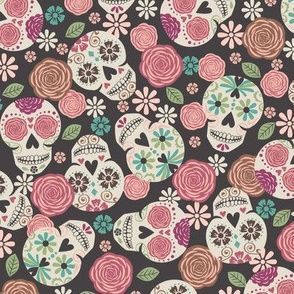 Sugar Skulls - Color