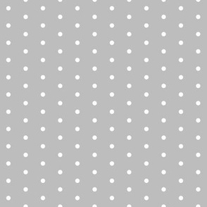dot // dots mini dots polka dots grey sweet little dots