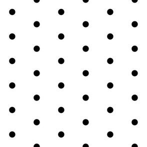 dot // spot black dots black spot polka dot larger scale sweet polka dot