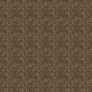 Herringbone Tweed - Brown