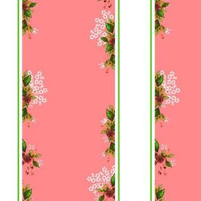 Roses Vines pink