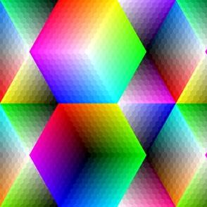 00490861 : hexagon palette 10