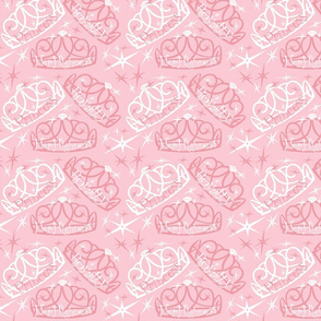 Tiara in pink