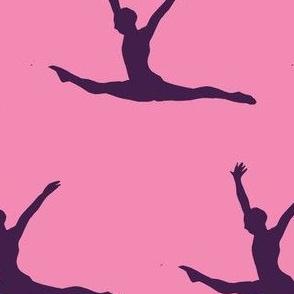 Gymnast pink