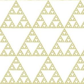 Sierpinski triangle - bronze