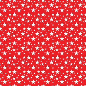 Red Star Fabric
