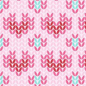 ♥ Heart knit ♥