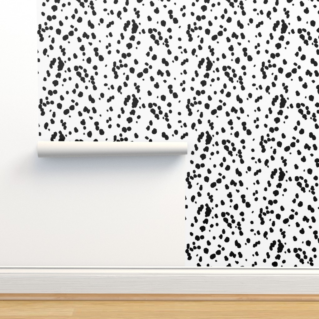 Isobar Durable Wallpaper featuring Dalmatian Spots by eclectic_house