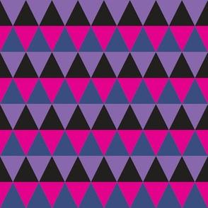 Triangle Purple Pink Blue