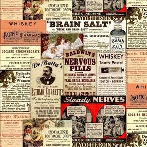 Whiskey Toothpaste and Brain Salt