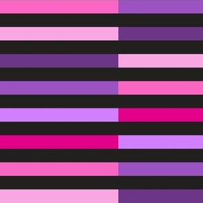 Stripes Purple Pink