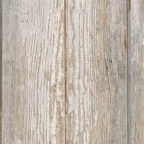 Whitewashed Wood Planks
