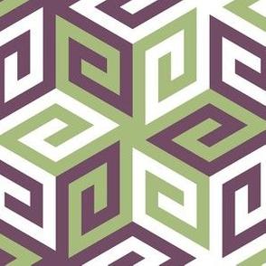 04935467 : greek cube : geometric