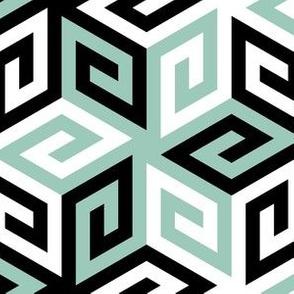 04935471 : greek cube : winter birds