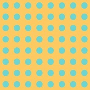 Lizzie's Aqua Polka Dots ©️GargoyleSentry
