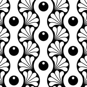 04935694 : splash stripe : black + white