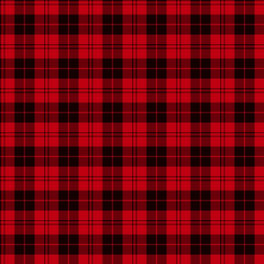 Campbell red / Campbell of Armaddie tartan, 3""