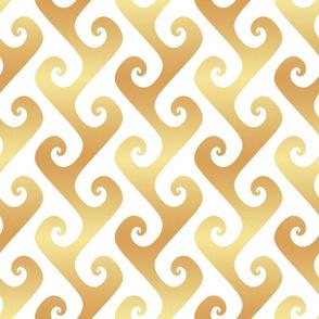 """4"""" amber tendrils"""