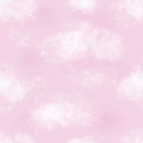 Pink Cloudy Sky