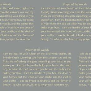 Prayer of the Woods (Steel Gray)