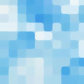 Blue Skies Soft Pixels