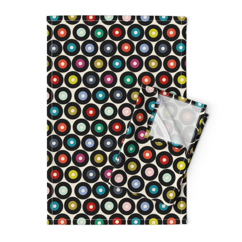 Orpington Tea Towels featuring VINYL small by scrummy