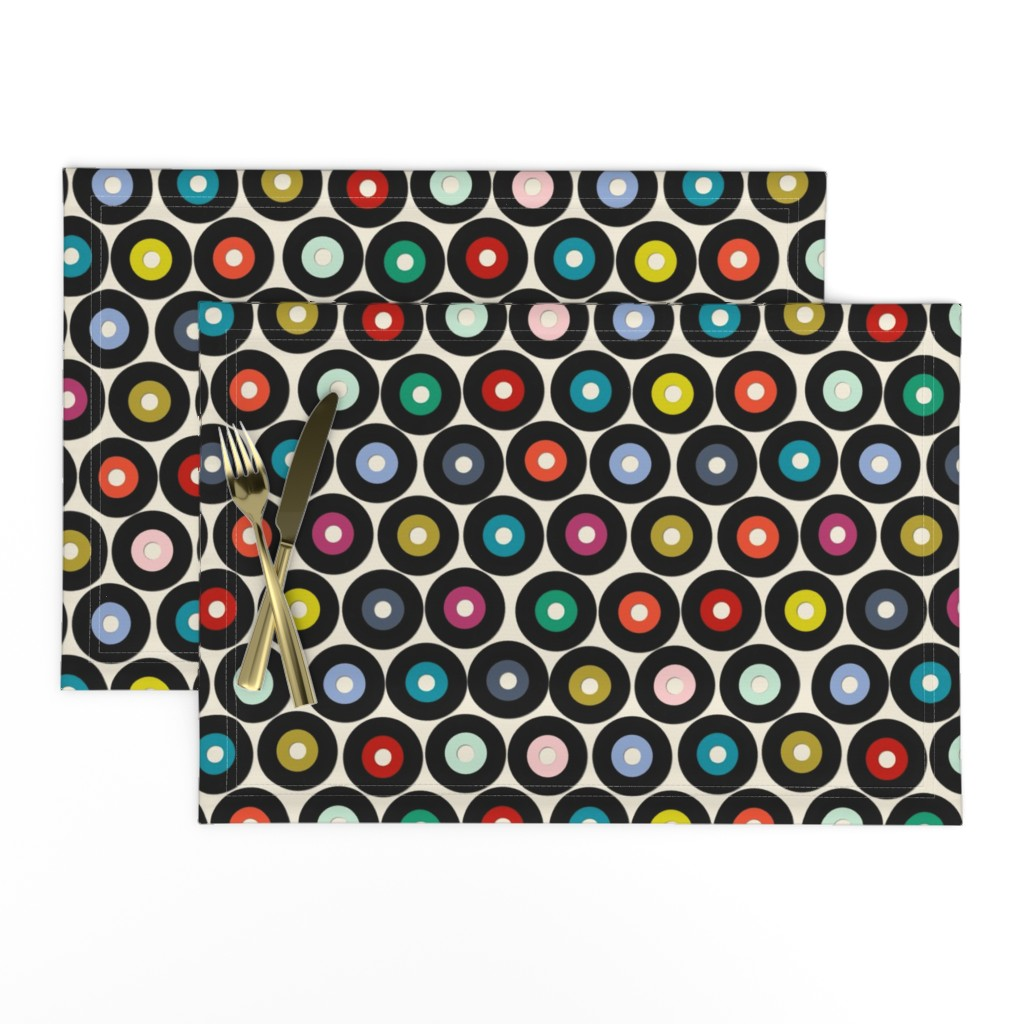 Lamona Cloth Placemats featuring VINYL small by scrummy