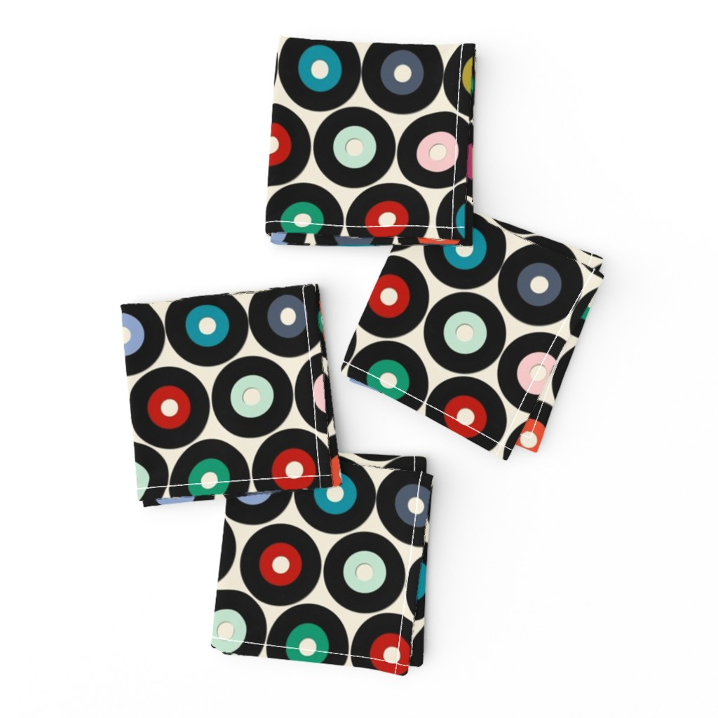Frizzle Cocktail Napkins featuring VINYL small by scrummy