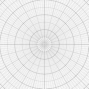 polar graph : small square