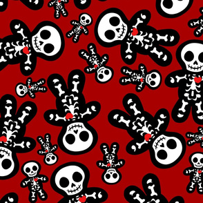 Cute Skeleton Pattern