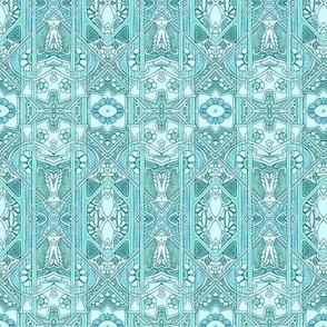 Baby Blue Victoriana