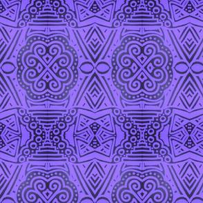 Purple and Black Magic