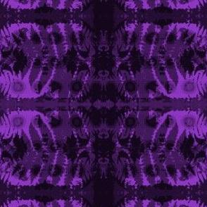 Fern leaf in purple