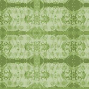 Fern leaf in bright green